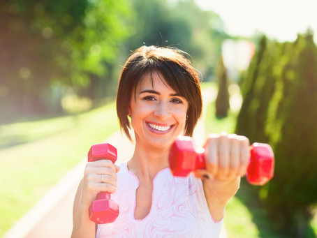 Resist ageing with exercise...