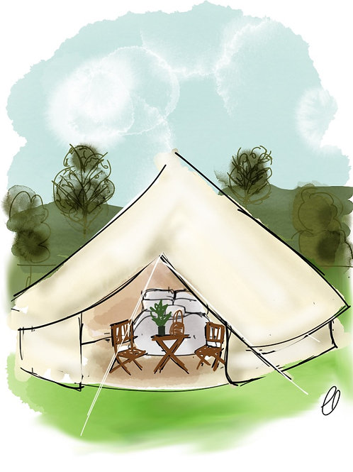 Bell Tent for 2 - FEASTIVAL