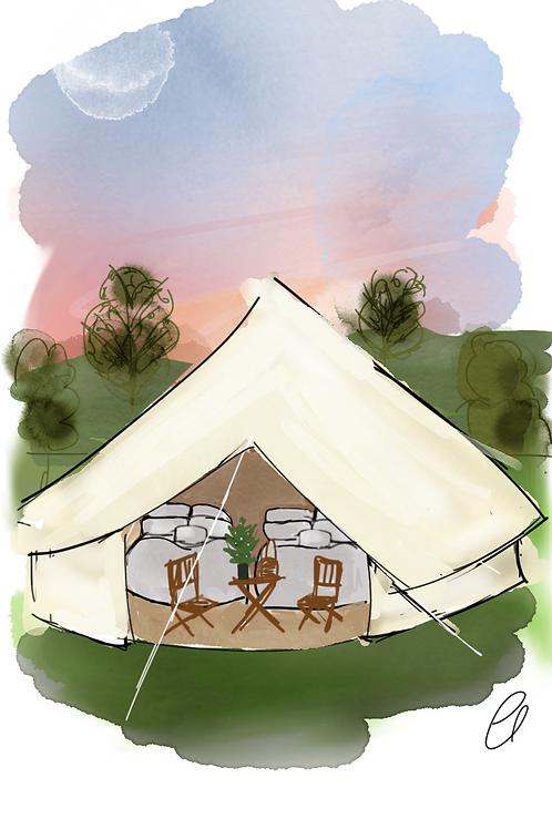 Bell Tent for 4 - FEASTIVAL