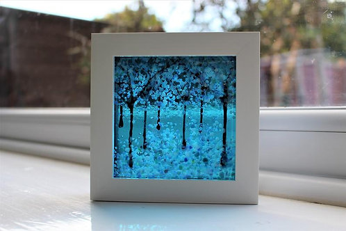 Turquoise Dream Woodland Picture