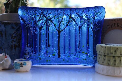 Cosmic Blue Soap Dish