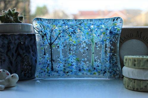 Calm Blue Soap Dish