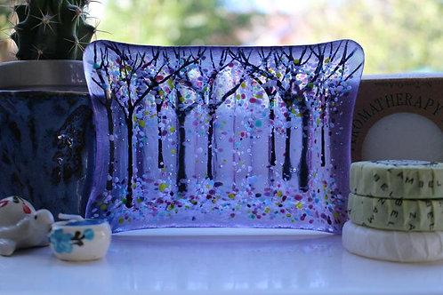 Gorgeous Lilac Soap Dish