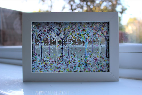 Clifton Wood Fused Glass Picture