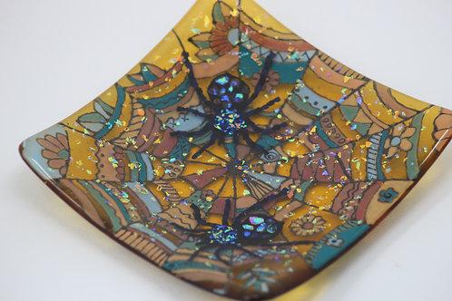 Incy Wincy Spider Glass Dish