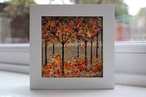 Bountiful Bronze Woodland Picture