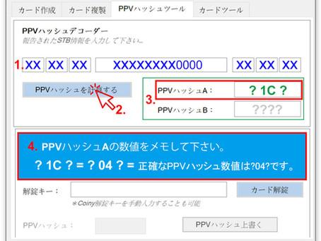 PPVハッシュツールのアルゴリズム