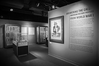installation of traveling exhibits