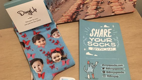 The Perfect Gift - DivvyUp Customized Socks!