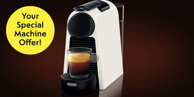 Coffee Machine with Coffee Sampler Pack