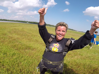 Two Virginia Beach Elementary School Principals Go Skydiving!