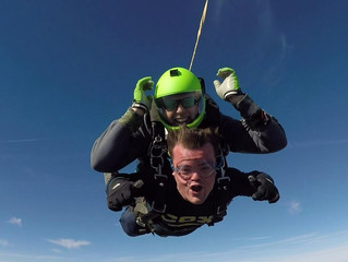 How to Prepare for the Perfect Winter Skydive