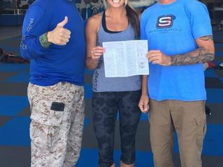 Lauren Pfeifer: Skydive Suffolk's Newest Freefall School Graduate!