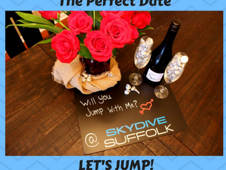 Surprise! Man Proposes to Girlfriend After Skydive