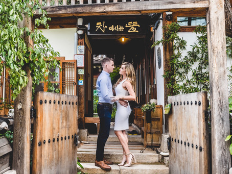 Engagement Photos In Bukchon Hanok Village (북촌한옥마을)