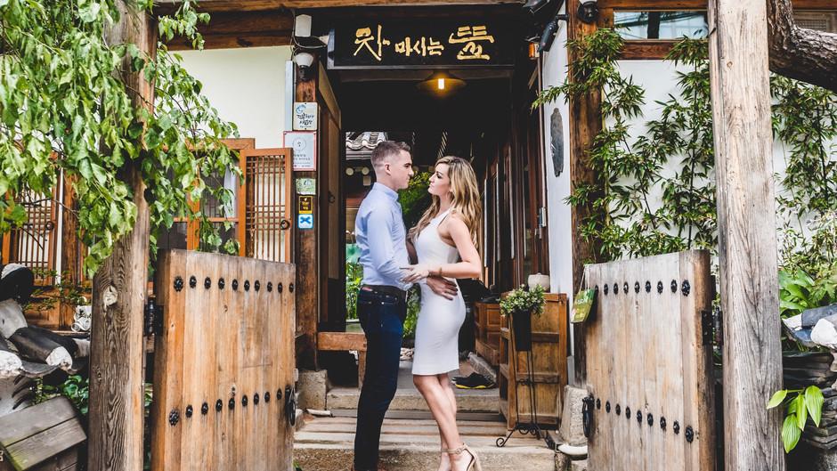 Engagement Photos In Bukchon Hanok Village (북촌한옥마을)