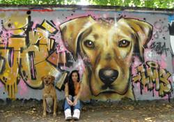Chien Graffiti