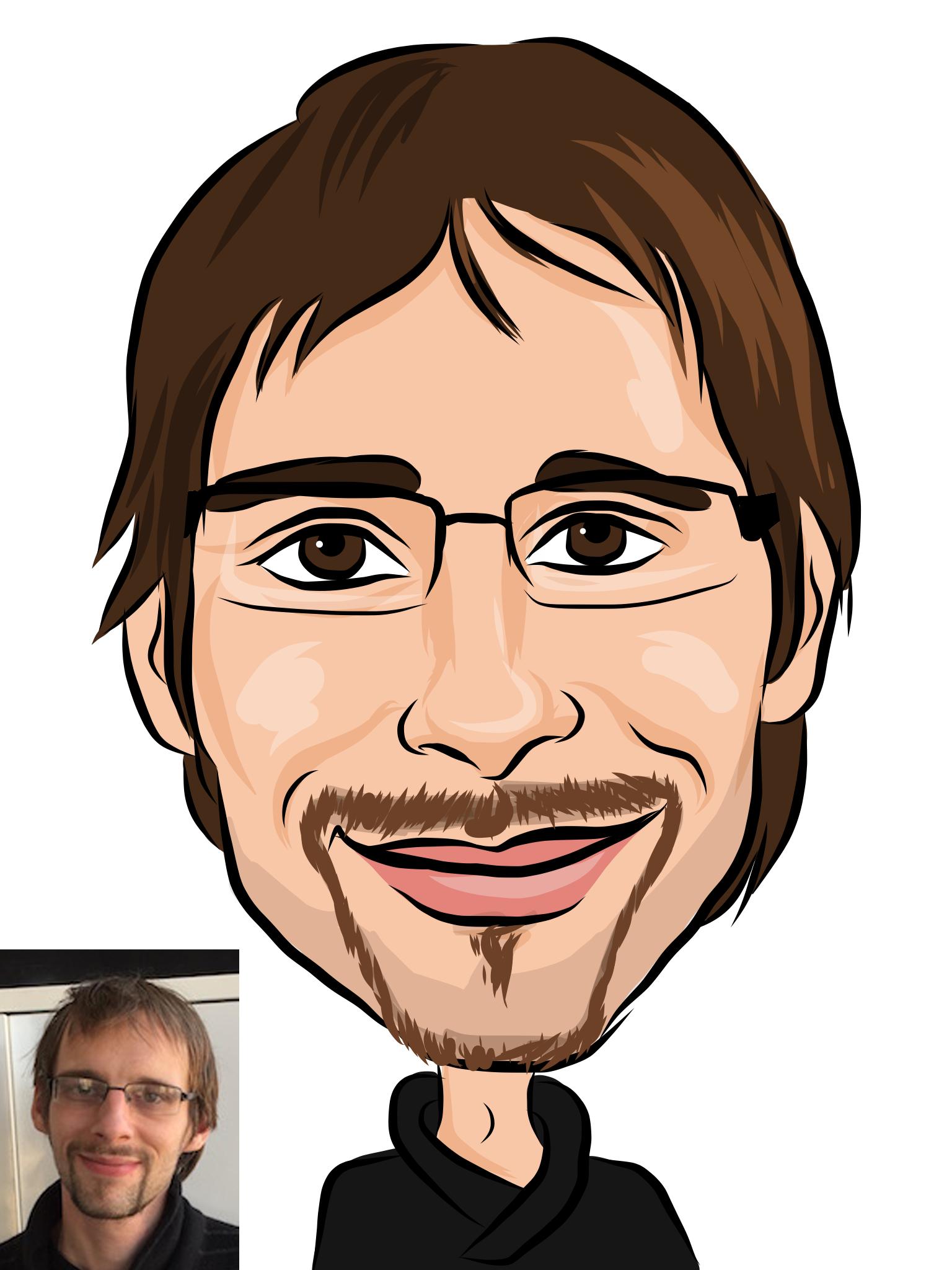 caricature numérique