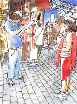 Le portraitiste de Montmartre
