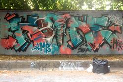 Xeone et Soraya graffiti