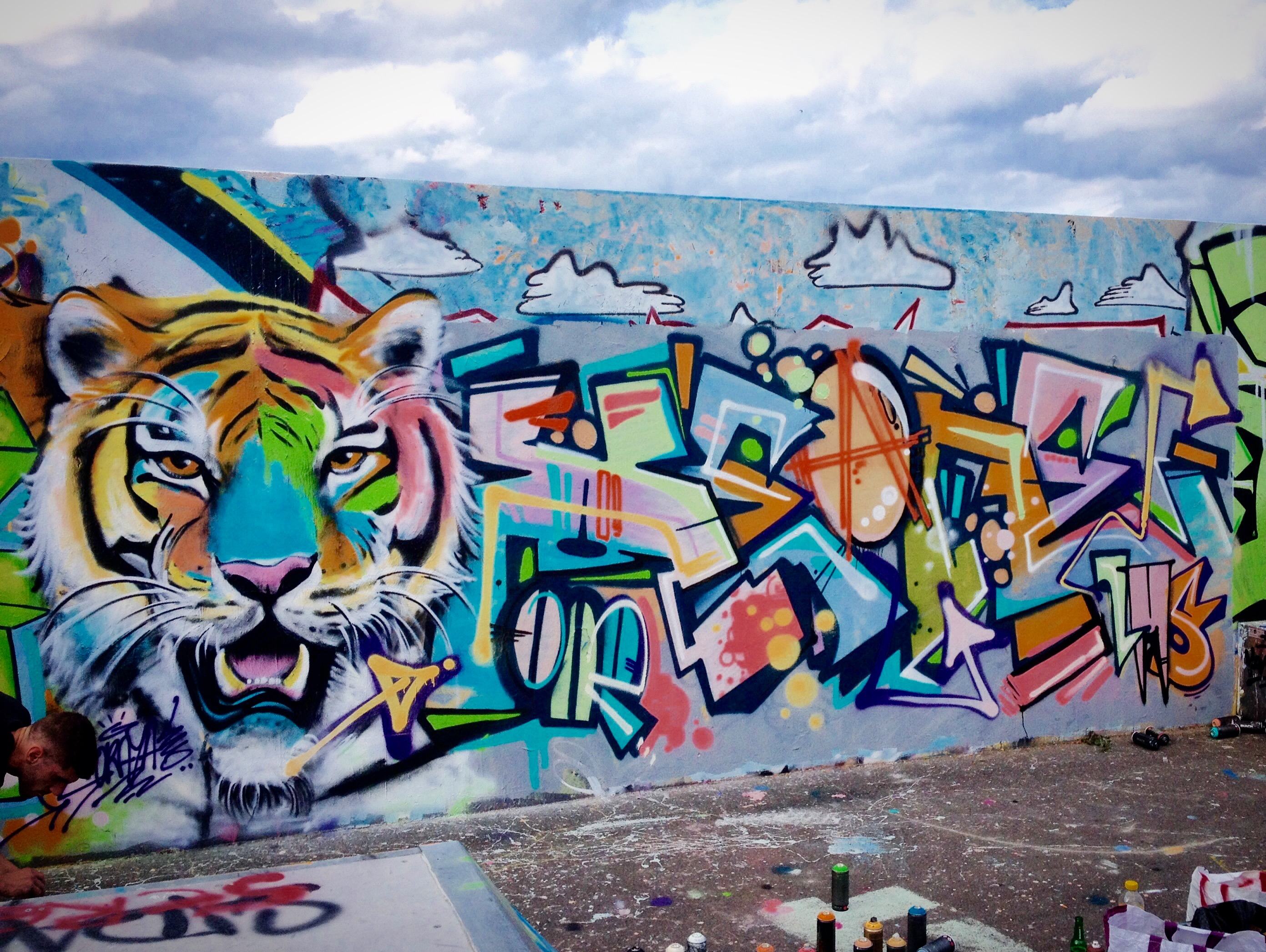 graffiti tigre