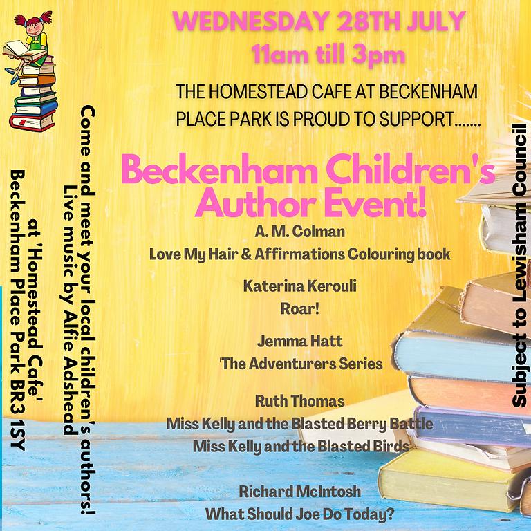 Beckenham Children's Author Event