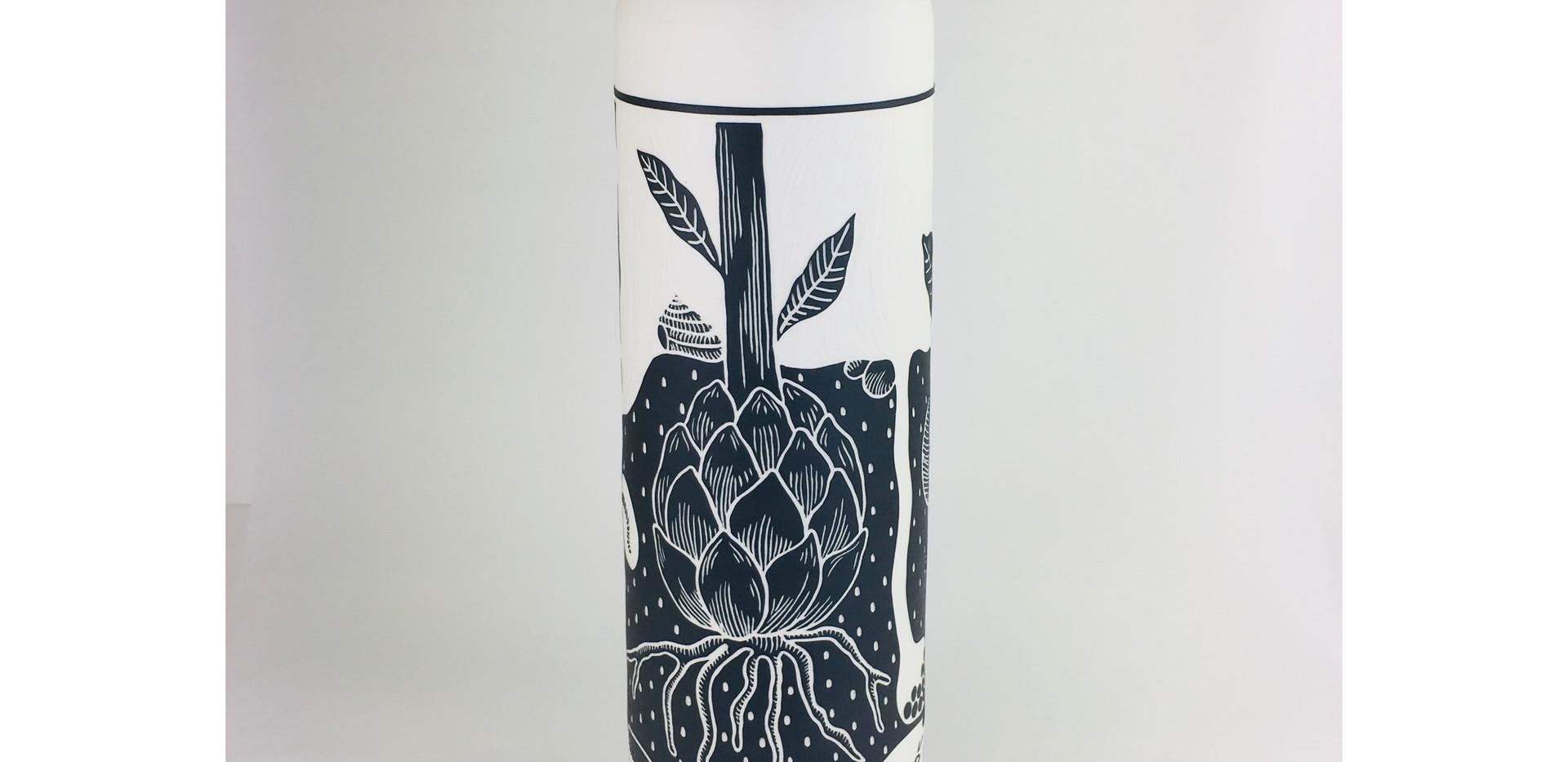 """Vase """"sous terre"""""""