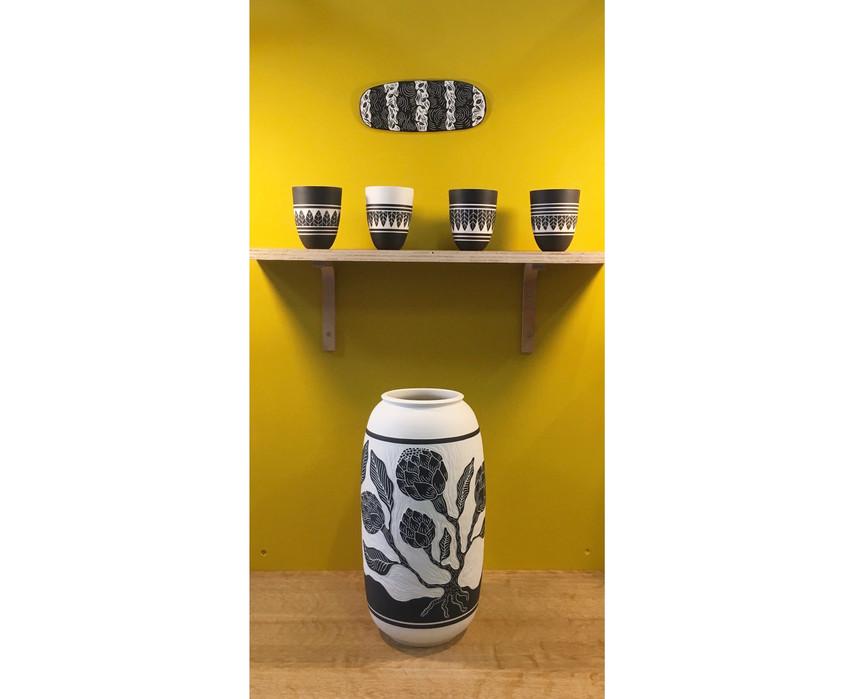 """Vase """"Proteas"""""""