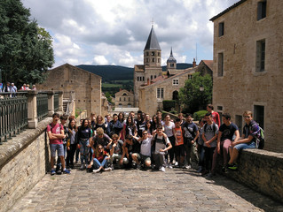 Bienvenue à Cluny, FRANCE