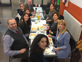 Second transnational meeting in Granollers: 25- 26th January 2018