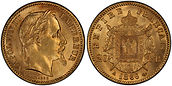 France 20 Francs Napoleon Gold Bullion.j