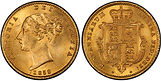 Great Britain Half Sovereign Gold Bullio
