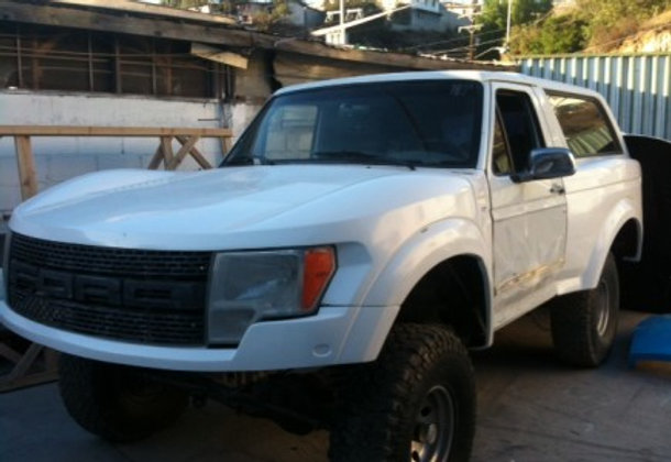 Ford Raptor Bronco >> 80 96 Ford Bronco To Raptor One Piece Conversion