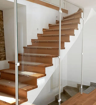 Sonderkonstruktion Stahl Glas