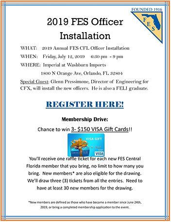 2019 FES Officer Installation Flyer (002
