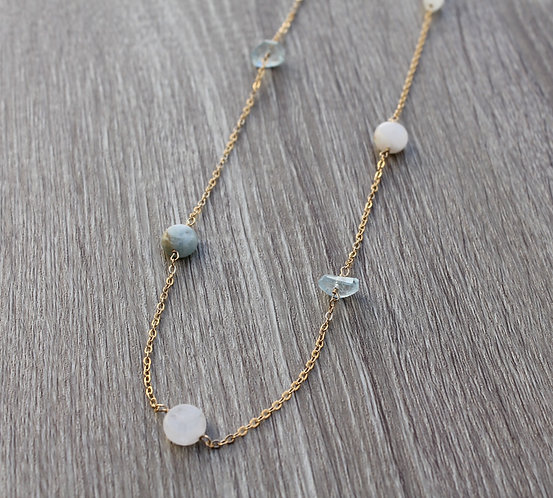 Rhythm of the Moon Necklace