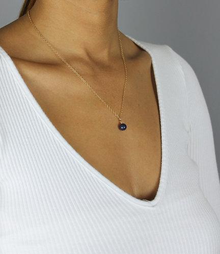 Lapis Orb Necklace