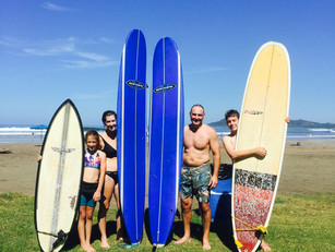 Tamarindo Surf Family Lesson