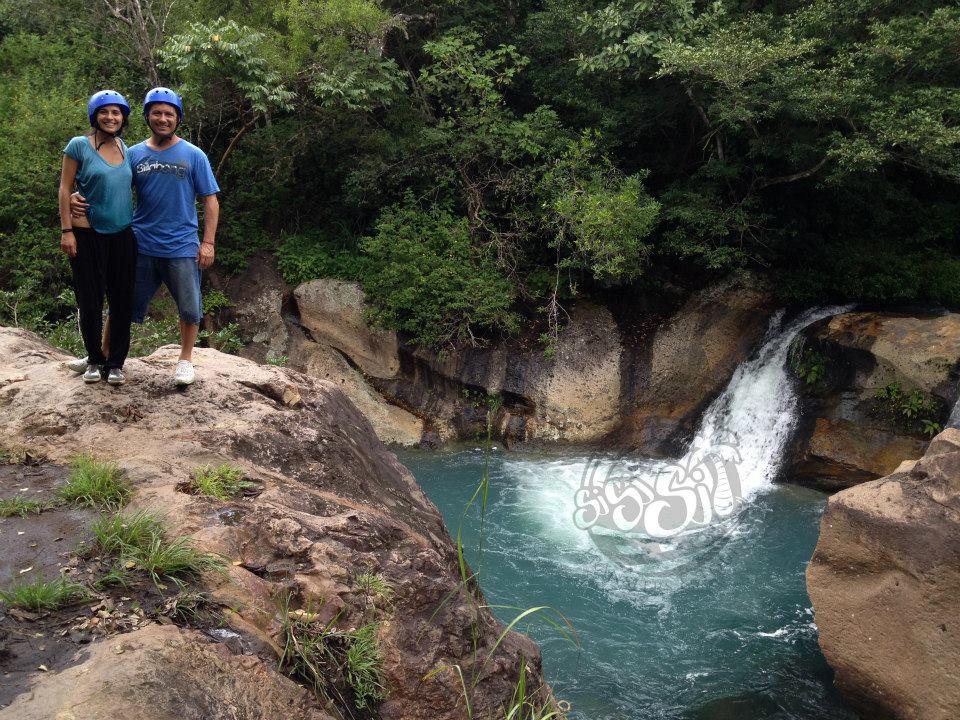 Cascada Hacienda Guachipelin
