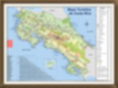 SiSiSi Transfers & Tours Costa Rica Mapa Turistico