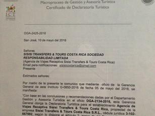 Declaratoria Turistica ICT