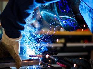 Welding workshop   Fabricom Janus Neill