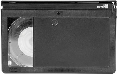 VHS-C camcorder cassette tape