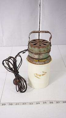 Handy Whip Electric Mixer With Milk Glass Beater Jar