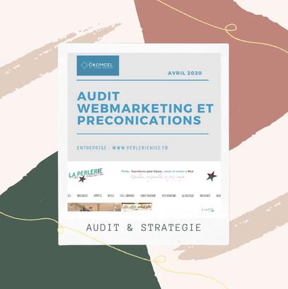 Audit et strategie webmarketing