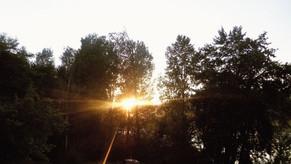 As I Follow The Golden Streams of Light...