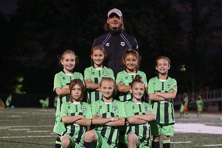 CEDAR STARS BERGEN GIRLS 2008 GREEN