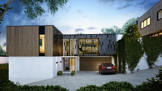 Edgy Architecturally Designed Executive Townhouses