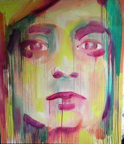 SEPTEMBER SELFIE_160x140_oil on canvas_2