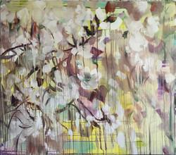 CHERRY BLOSSOM_160x140cm_oil on canvas_2